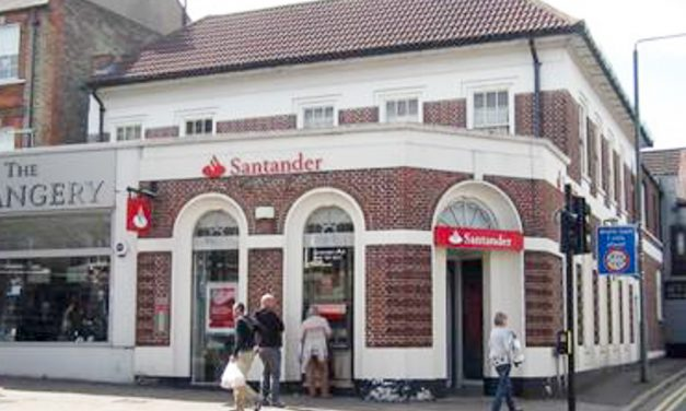 Closure of Chislehurst branch of Santander Bank