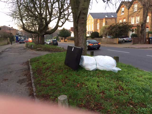 The season of goodwill and maximum fly-tipping